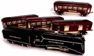 NYC-Tinplate-Train-4car